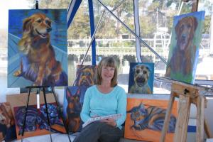 Art Show Features Pet Portraits, K9 Airlift, Adoptable Pets